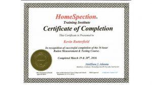 03.HomeSpection Training Institute - Certified & Licensed Radon Inspector