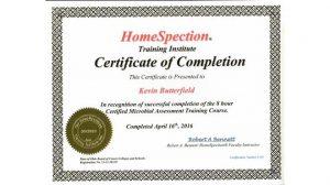 08.HomeSpection Training Institute - Certified Mold Inspector inc Sampling